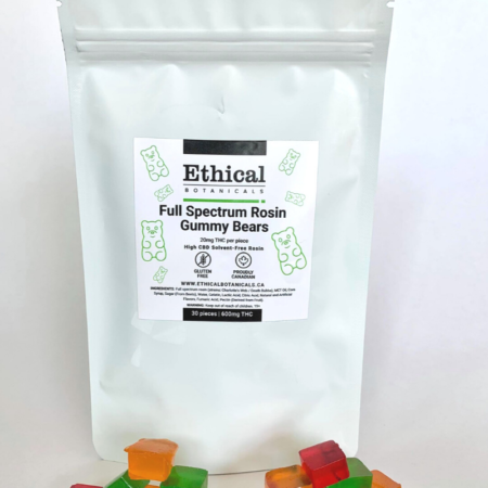 thc gummies, ethical botanicals product image