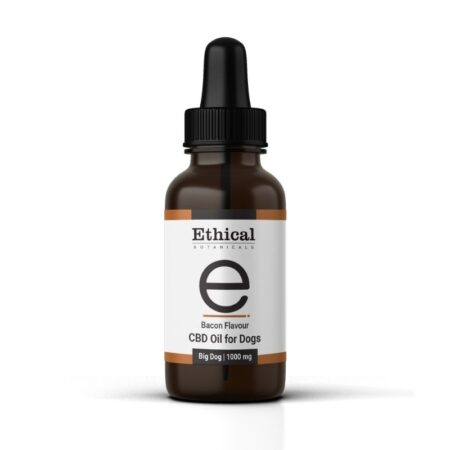 bacon flavoured cbd oil for dogs by ethical botanicals, product image