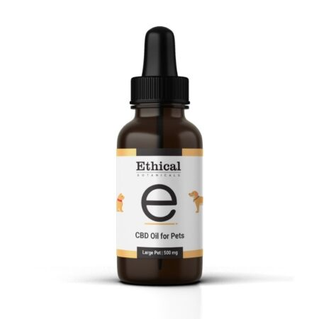cbd oil for pets large pet - ethical botanicals, product imageby ethical botanicals